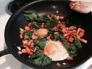Sweet Potato Hash - Enjoy!