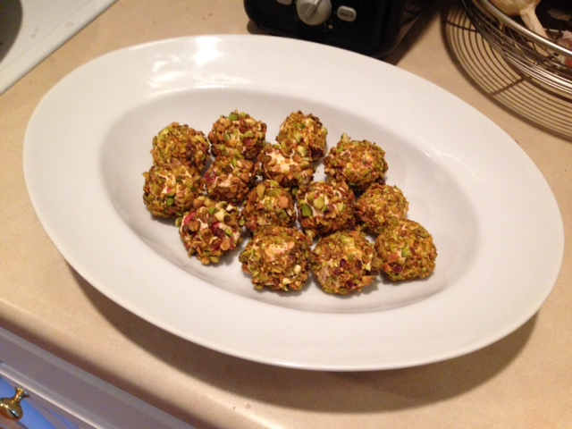 goat cheese balls